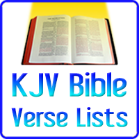 KJV - King James Version - Bible Verse Lists and Study Guides