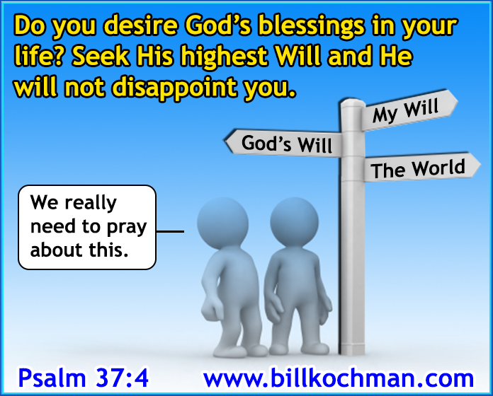 BBB Graphics Library Category: God's Will or Your Own?