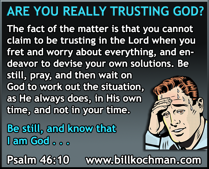 BBB Graphics Library Category: Trust the Lord, Don't Worry